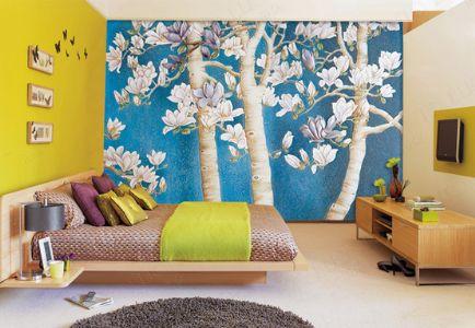 墙体彩绘相比于墙纸和墙贴的优势是什么