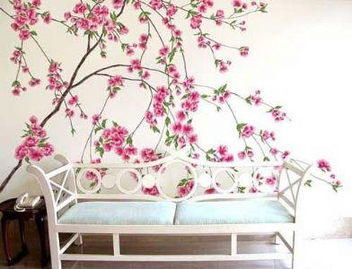 手绘墙和墙纸哪个更好