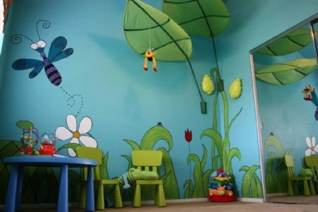 画一幅手绘墙的树并不困难
